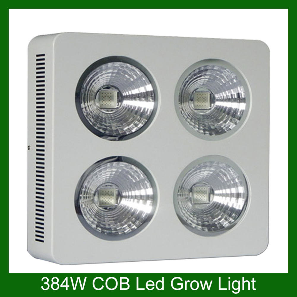 2015 Best Selling 384w Cob Led Grow Light Customized Red