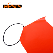 Wasserdichte PVC material orange traffic warning sicherheitsfahne