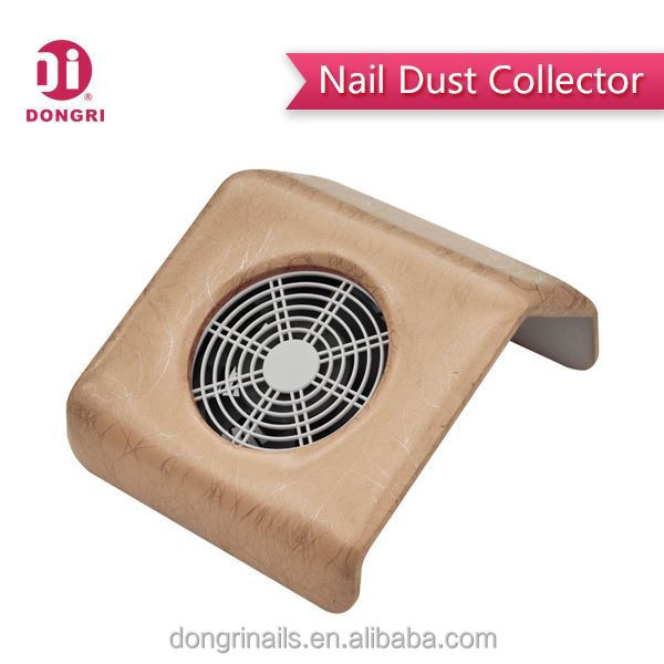 Portable nail table avec duster collecteur