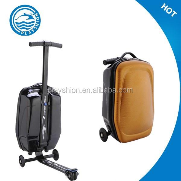 koffer roller scooter rucksack schwarz gep ck produkt id. Black Bedroom Furniture Sets. Home Design Ideas
