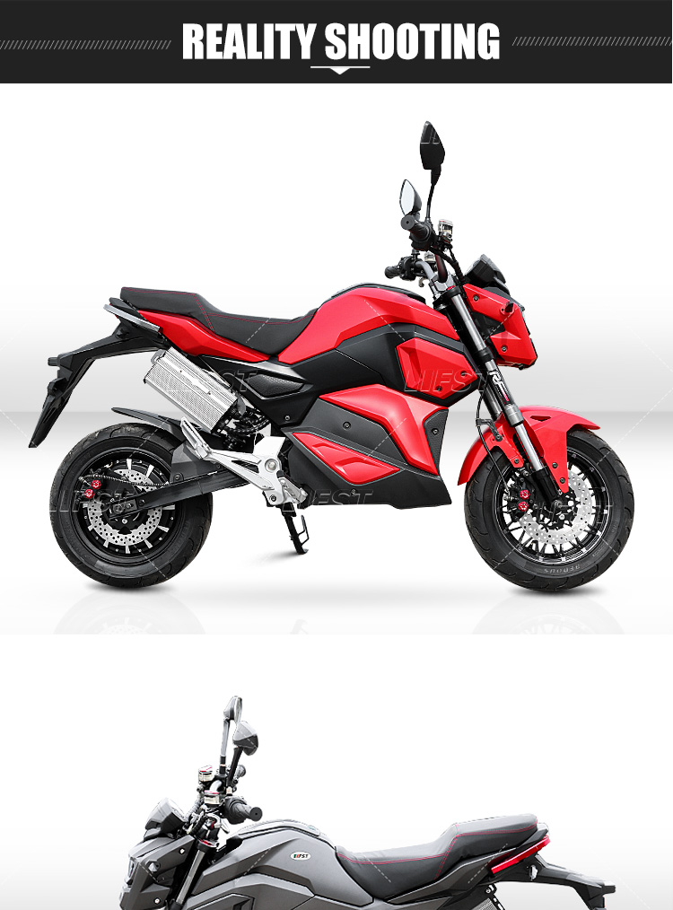 high power cool customized color beautiful custom adult off road street electric motorcycles for sale