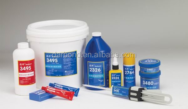 High Shear and Peeling Strength Modified Epoxy Structural Adhesive