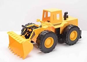 Mighty Wheels Heavy Steel and Plastic Front Loader