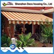 Hot sale factory direct price diy retractable awning for pergola