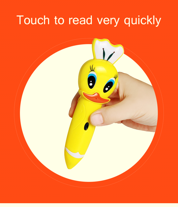 promotional touch reading pen for learning languages