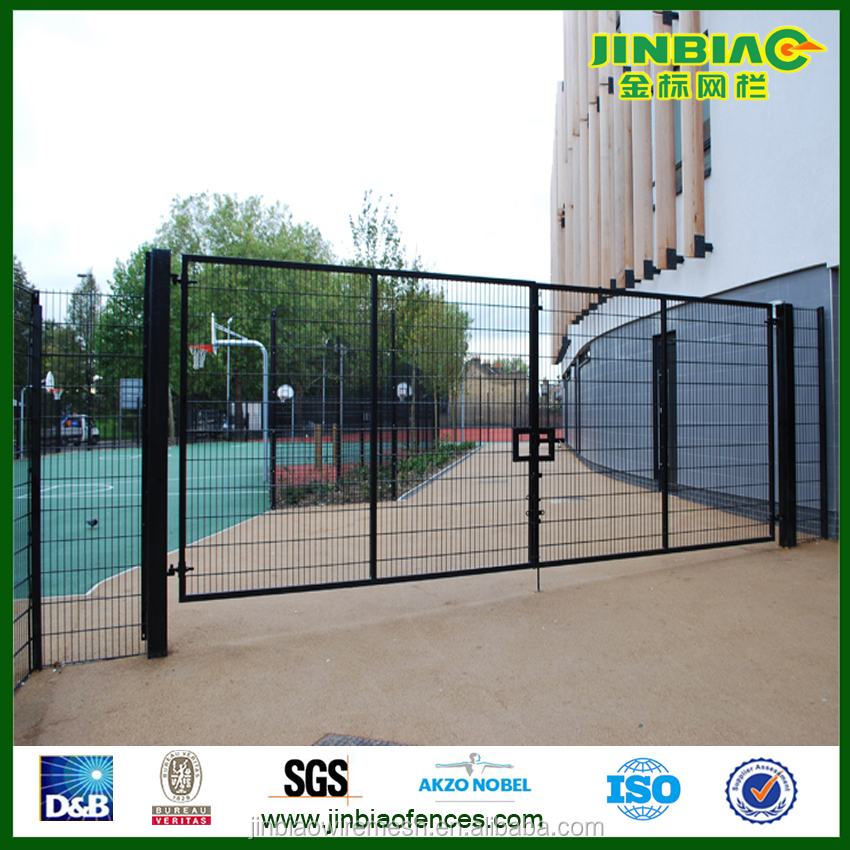 Double And Single Swing Home Gate Grill Design