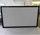 16:9 133'' perforated screen/ Fixed Frame screen with Perforated woven Screen Material / Home theater