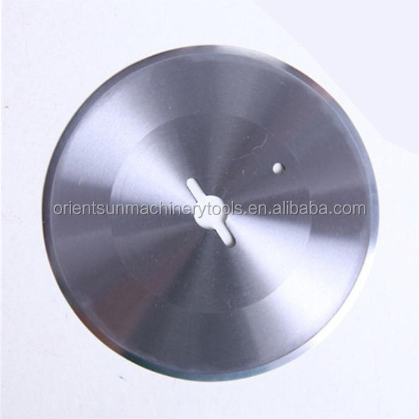 stainless steel round blade for kebab slicer