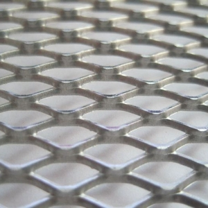 Galvanized and PVC coated gothic expanded metal mesh( Anping factory )