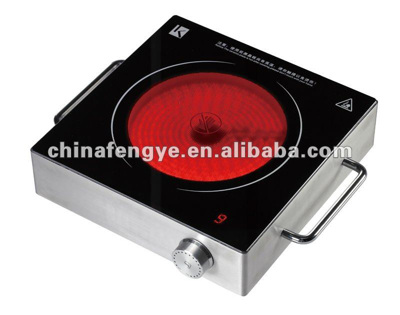 Electric infrared hot plate