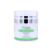MELAO Organic Eye Cream Firm Lift Anti Aging Dark Circles Wrinkles Puffiness Removing Eye Gel 50g
