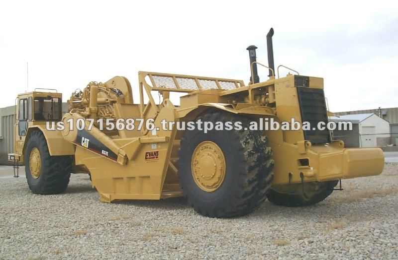 Caterpillar Scraper Used Road Construction Machinery