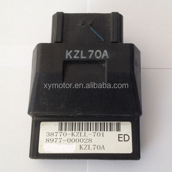 Pgm-fi (fuel Injection System) Motorcycle Ecu Computer Part No ...