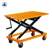 500kg Portable Manual Mechanical Lift Trolley