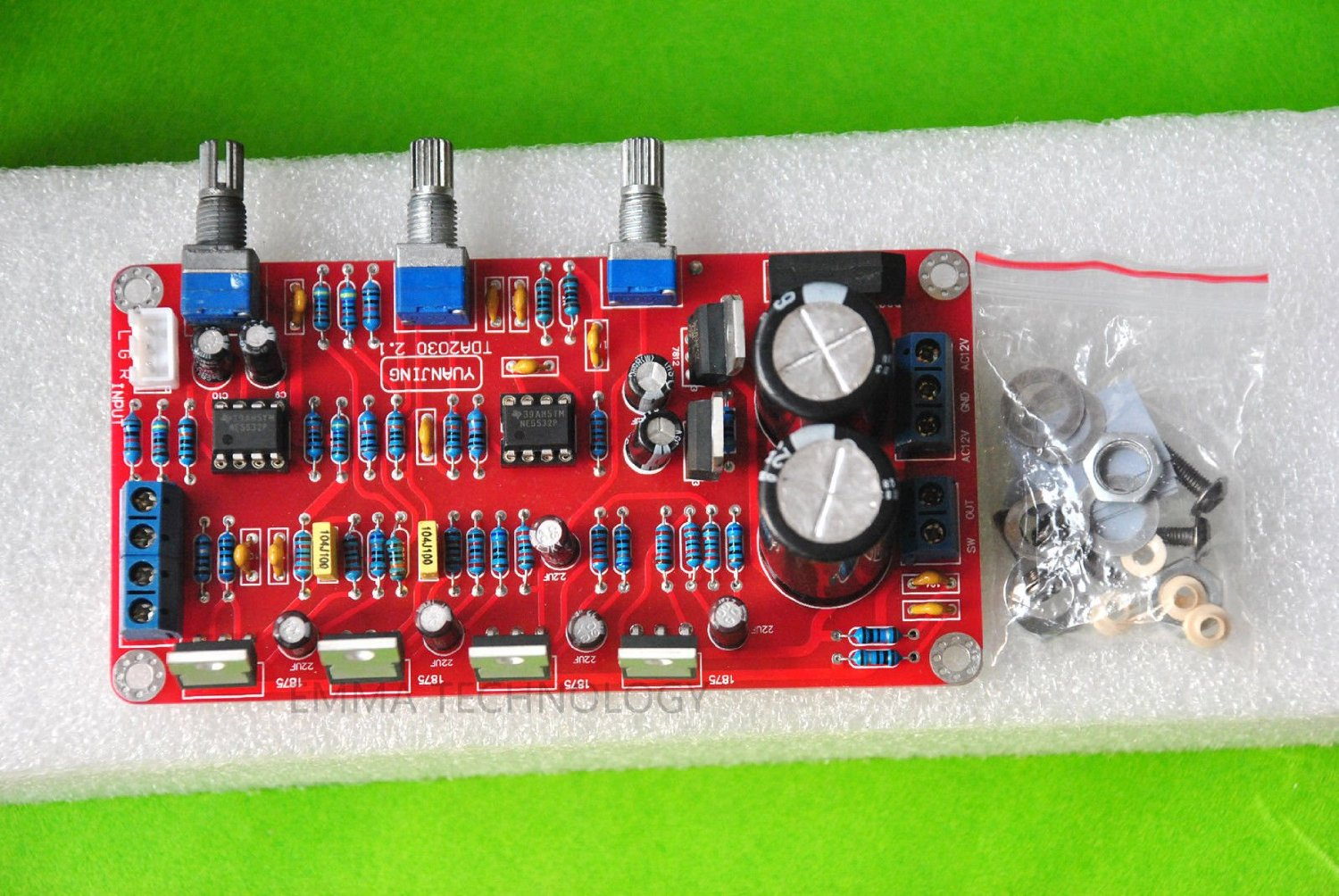 Buy Imported Lm1875 Amplifier Board 21 20w Audio Using Electronic Circuits And Diagram Ne5532 Ic Channel 50w Subwoofer Assembled