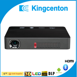 2017 new 3D and 4K Pico Projector DLP LED Projector with HDMI