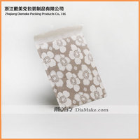 wholesale factory custom metallic white flower kraft bubble mailer for sales