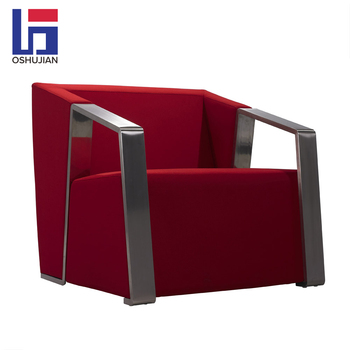 Factory Supply High Class Modern Simple Single Seat Office Leather