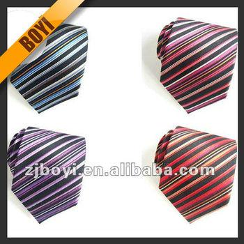 All Kinds Of Neckwear Stripe Silk Tie For Sale