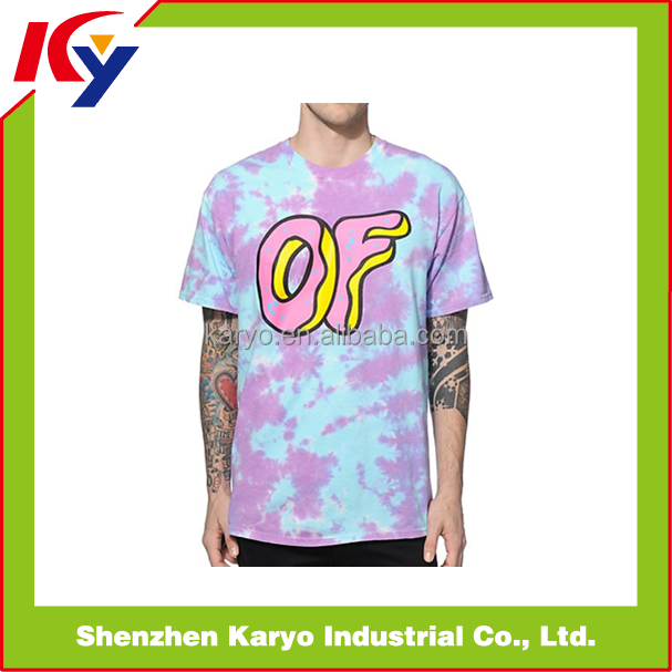 Latest Dye Sublimation T-shirt Promotion Fashion Style /T-shirt Boys Design Printing For Sale