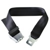 2016 New Design 70cm 2ft Black Plane Airplane Airline Seat Belt Extension Extender