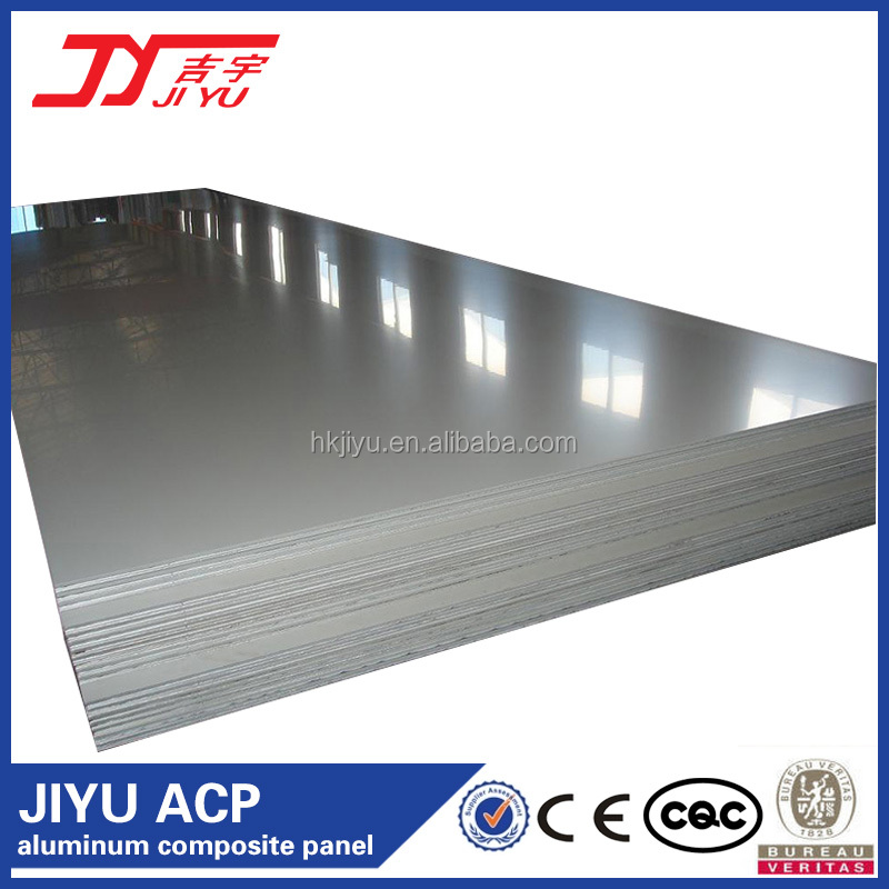 JIYU Brand Colored Lightweight Insulation Modern Corrugated Aluminum Panel