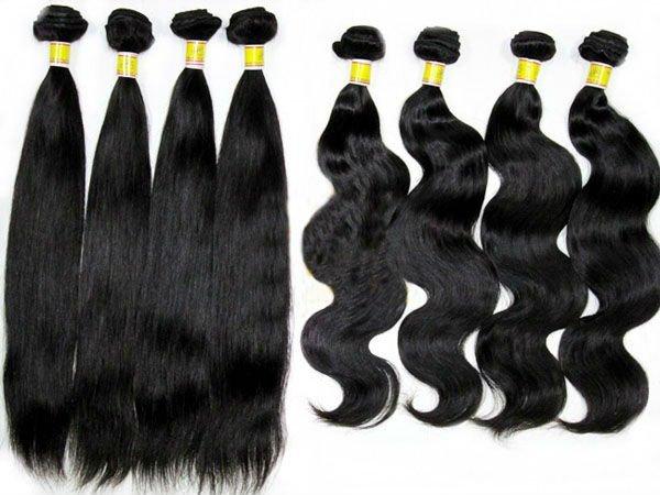 24inch peruvian hair for weaving straight hair aaaa quality