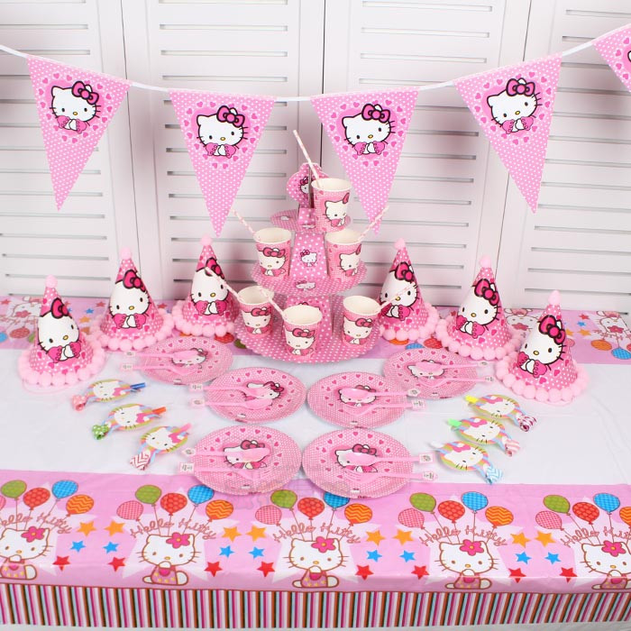 Hello Kitty Birthday Party Supplies For Kids Hello Kitty Birthday