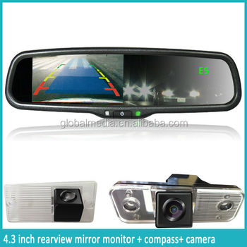 world best selling products smart mirror auto dimming rear view camera mirror germid rearview. Black Bedroom Furniture Sets. Home Design Ideas
