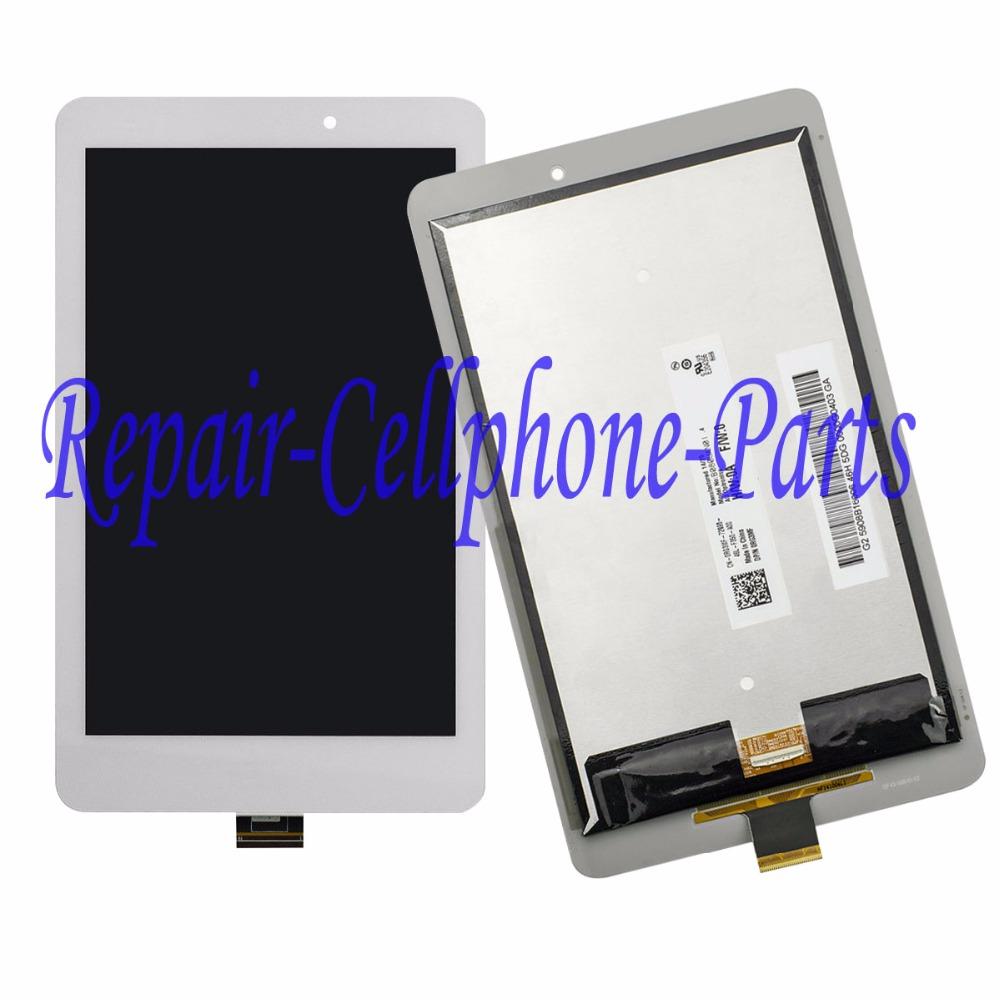 8.0 дюймов белый жк-дисплей + сенсорный стекло ассамблея для Acer Iconia Tab 8 A1-840HD A1 840HD 840FHD - версия B