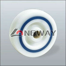 PP sandwich loose wheel, roller bearing; Nylon wheel is available