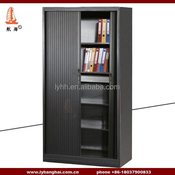 Workspace Tambour Door Cabinets Sliding Doors Office