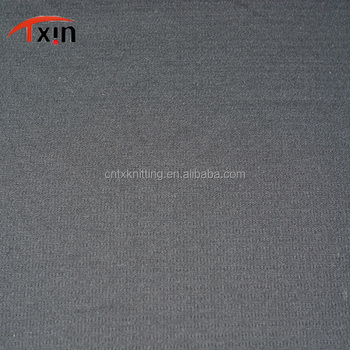 manufacture polyester double layer fabric jersey fabric, shrink resistant sports fabriic
