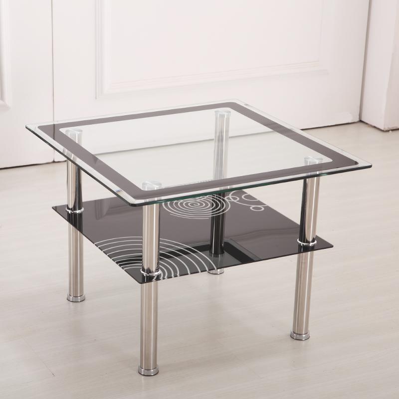 Small Apartment Minimalist Modern Coffee Table Sofa Side A