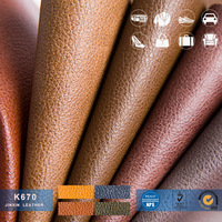 Factory Abrasion Resistant PVC Artificial Leather, Leather Products/ stock lot supplying