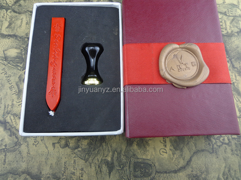 Clear stamp impression wax seal/Copper&brass wax seal