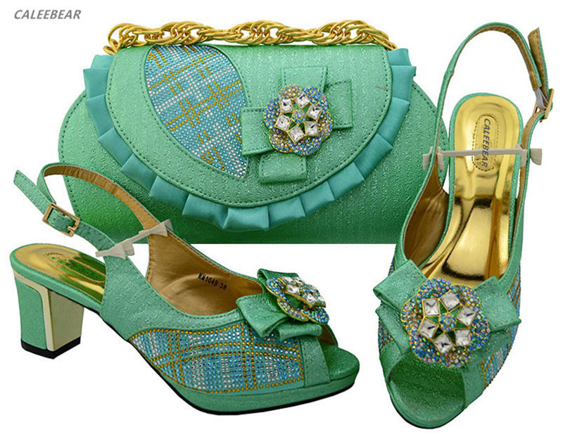 Italian evening with bag shoes Peach bags matching set Wedding ladies shoes Color For women and shoes 5wSSgqf0