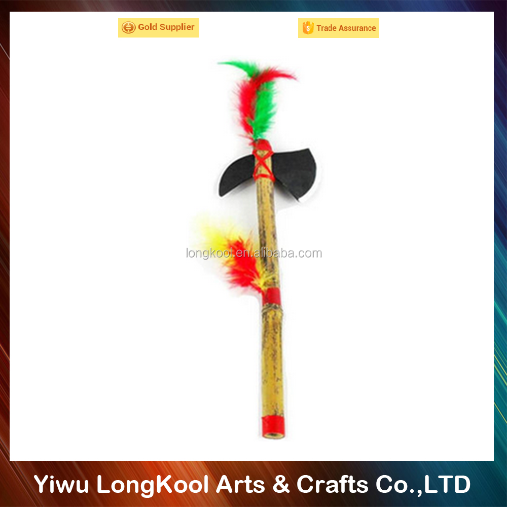 2016 Factory direct sale children cosplay indian wooden sword