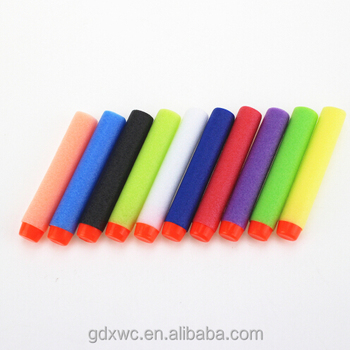 10 colour Foam Bullets for Nerf Toy Rifle Gun