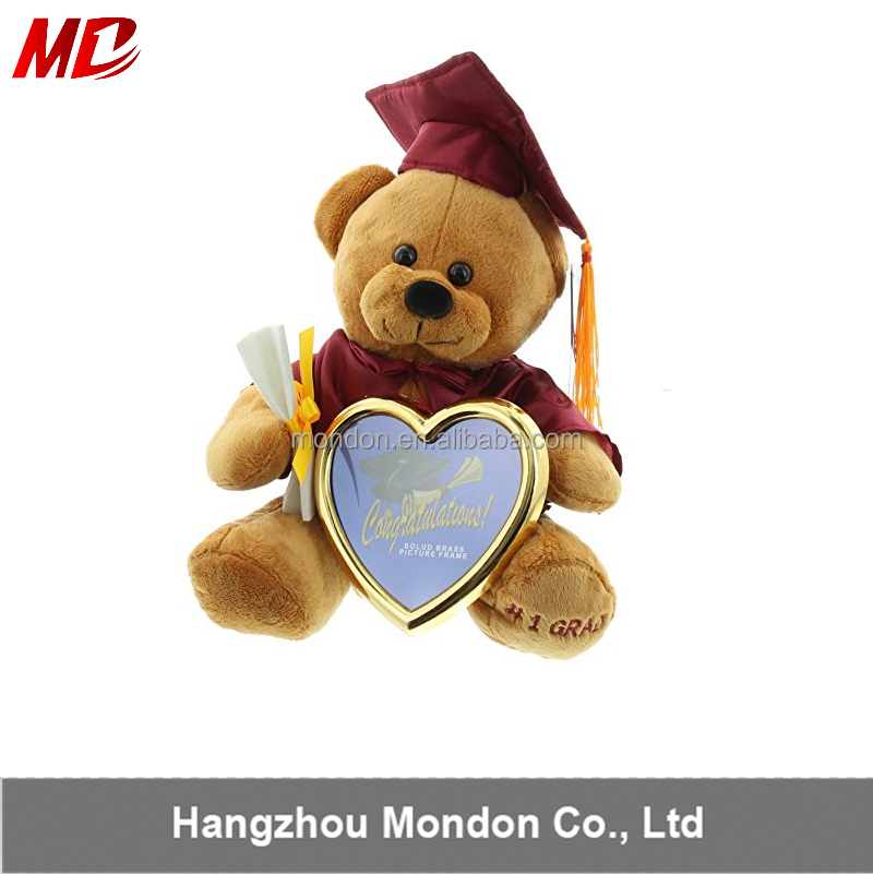 Wholesale the Graduation Photo Frame Teddy Bear In Stock