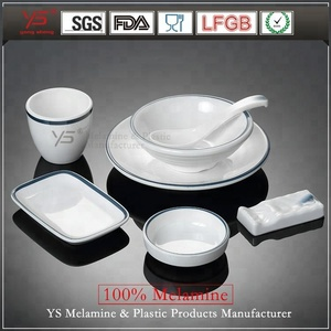 Wholesale plastic hot sale melamine tableware guangdong dinnerware sets tableware guangzhou for restaurant prices