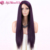 Alibaba Yaki Straight Hair Purple None Lace Wig 100% Modacrylic Fiber Synthetic Lace Closure Wigs For Black Women
