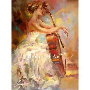 Abstract Womens Play Violin Hot Sex Images Nude Women Beautiful Ballet Girl Oil Paintings Of