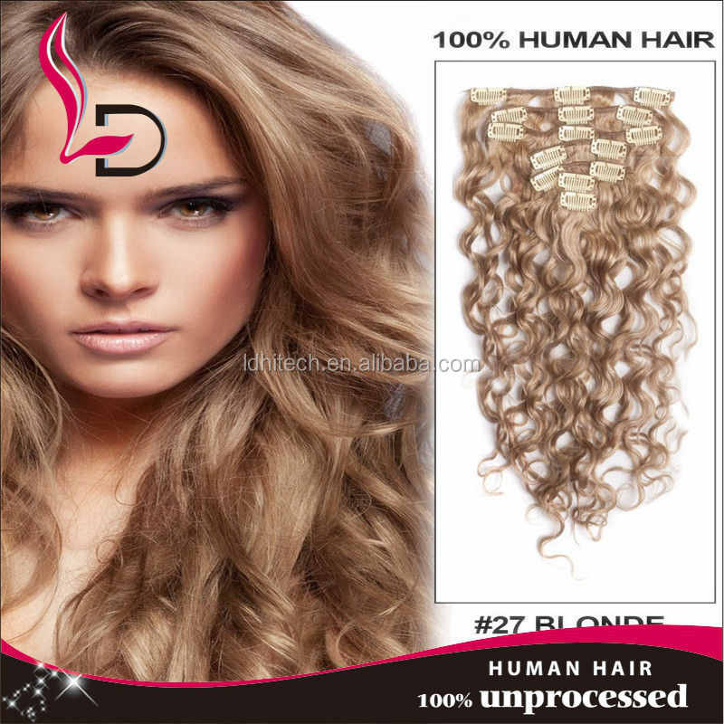Wholesale price and popular clip in hair extensions queen like brazilian hair
