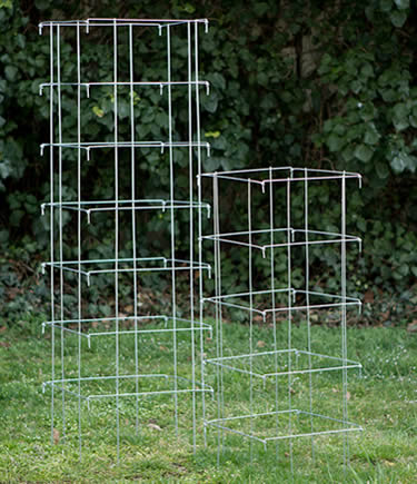 Heavy duty Cattle Panel Round or Square Tomato Cages