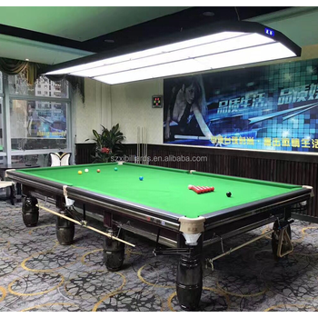 Professional Snooker Table For Sale With LED Lights