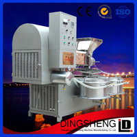 D-1688 Soybean/rapeseed/sunflower seed Automatic oil expeller machine with vacuum filter system