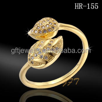 new fashion 2016 spring latest women finger ring gold finger ring