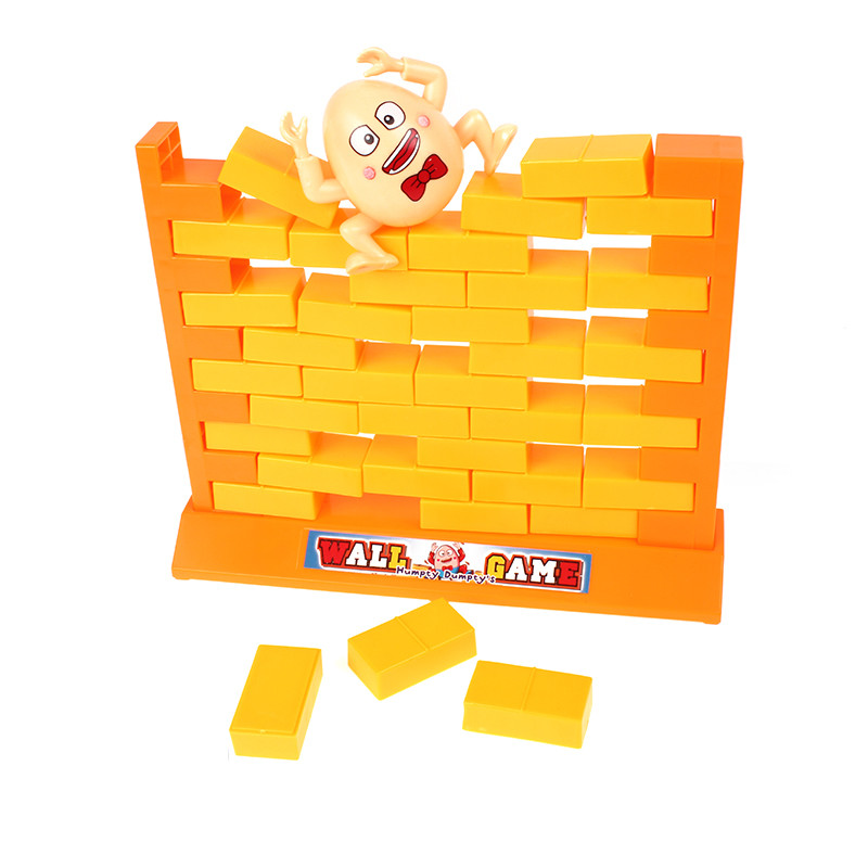 interesting plastic puzzle brain toy demolish stacking educational wall games for kids