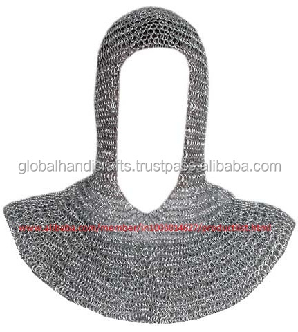 Medieval Knight Armor Chain Mail Coif